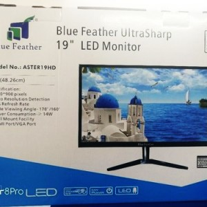 Blue feather 19 inch monitor