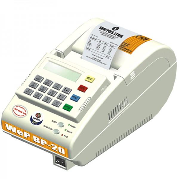 WEP BP-20 Standalone Billing Machine (White)
