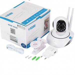V380 WiFi Smart Camera 1080p Hd Quality with Night Vision Quality Gauranteed(2mp)
