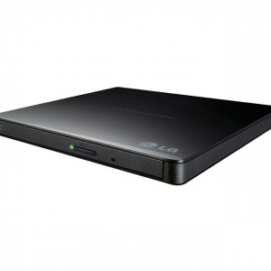 G Ultra Slim Portable Black DVD Writer (GP65NB60)