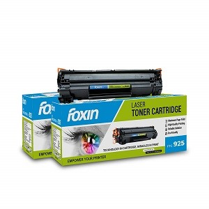 Foxin FTC-925 Toner Cartridge Compatible for Hp/Canon Laser Printer Series (Black)