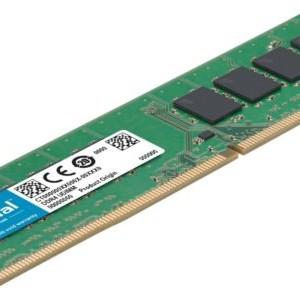 Crucial 8GB DDR4 1.2v 2400Mhz CL17 UDIMM RAM Memory Module for Desktop
