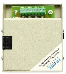 Protek 12V 4 Channel Multi Output CCTV SMPS | PS04CN |